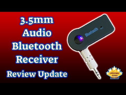3 5mm Audio Bluetooth Receiver (Review Update) - YouTube