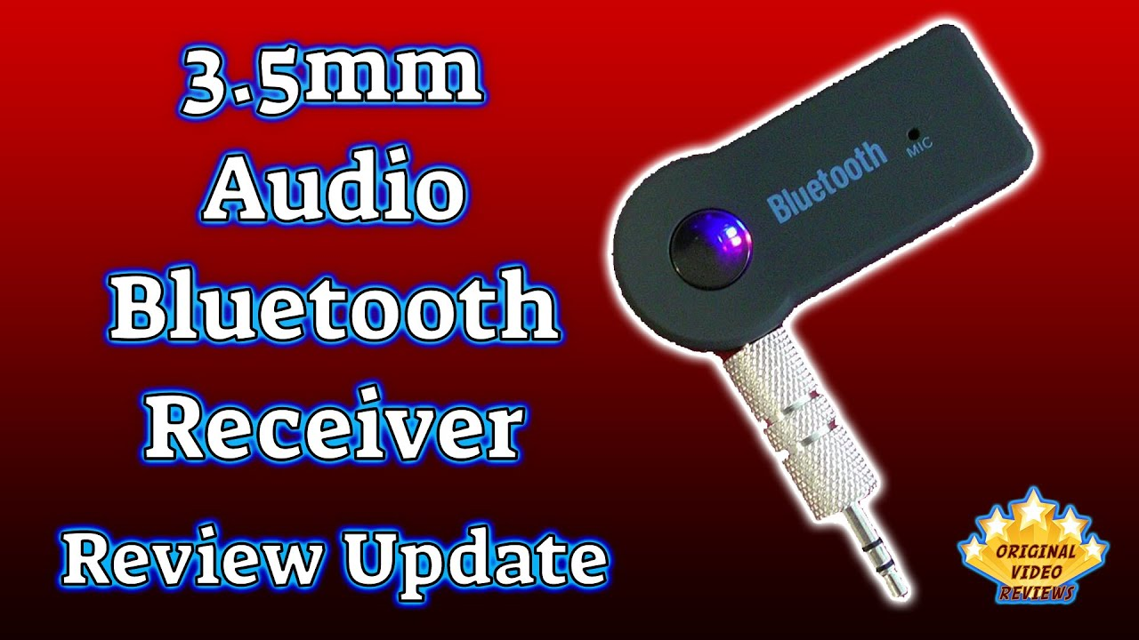 3 5mm Audio Bluetooth Receiver (Review Update)
