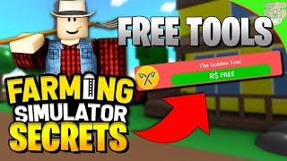 ROBLOX FARMING SIMULATOR FREE TOOLS & NEW AREA [UPDATE]