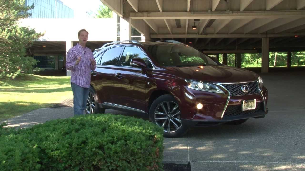 2013 Lexus RX 350 F SPORT - Drive Time Review with Steve Hammes ...