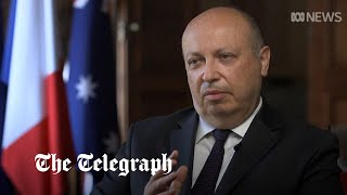 video: France calls UK a 'junior partner' in submarine deal as Germany warns it threatens Western unity