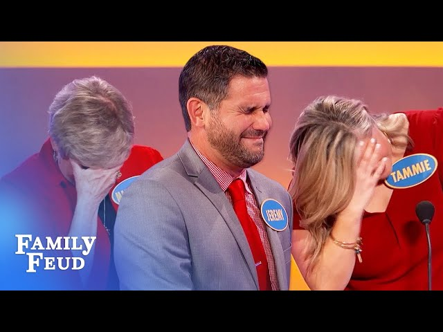 OMG... Jeremy goes THERE with THIS answer! | Family Feud