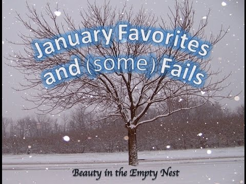 January 2016 Favorites and Fails