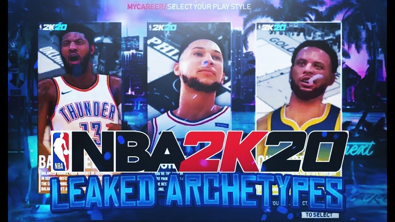 *NEW* NBA 2K20 First Archetype Selection Screen And