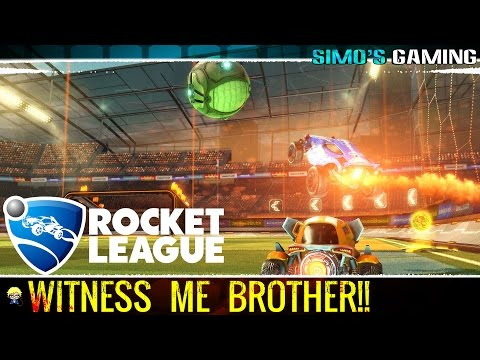 Rocket League - Witness my Mediocre Display