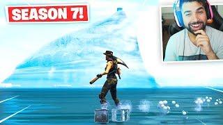 Visiting THE ICEBERG in Fortnite.. (Season 7) thumbnail