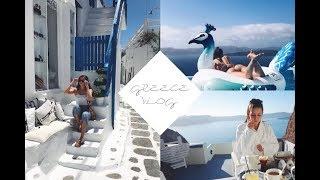 GREECE VLOG 2017 | Santorini & Mykonos | Ellen Barron