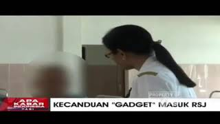 Kecanduan gadget masuk Rumah Sakit Jiwa