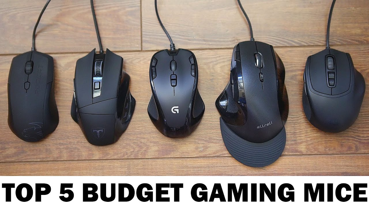 best budget gaming mice 2015