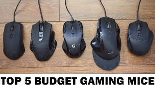 Top Five Budget Gaming Mice Under $30 (2016)