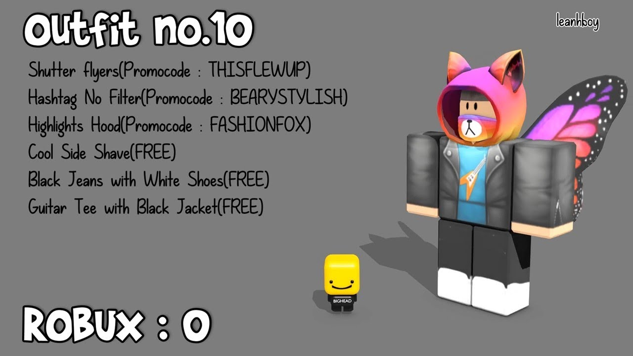 17 Roblox Free Fans Outfits 0 Robux Outfits Youtube