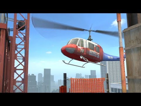 Секрет вертолёта на