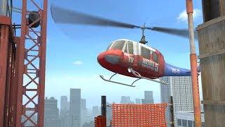 Секрет вертолёта на карте Вертиго   CS:GO - Интересное
