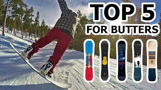 Top 5 Snowboards for Butter Tricks - 2018