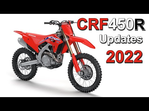2022 Honda CRF450R Update   What's New?