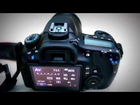 F-stop | Change Aperture on EOS 60D