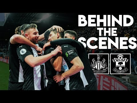 BEHIND-THE-SCENES | Newcastle United 2 Southampton 1