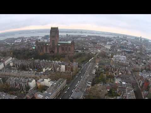 DJI Phantom - Liverpool City Drone Flight