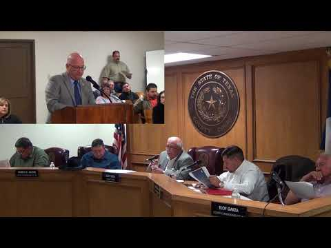 Starr County Commissioners Court 2-12-2018