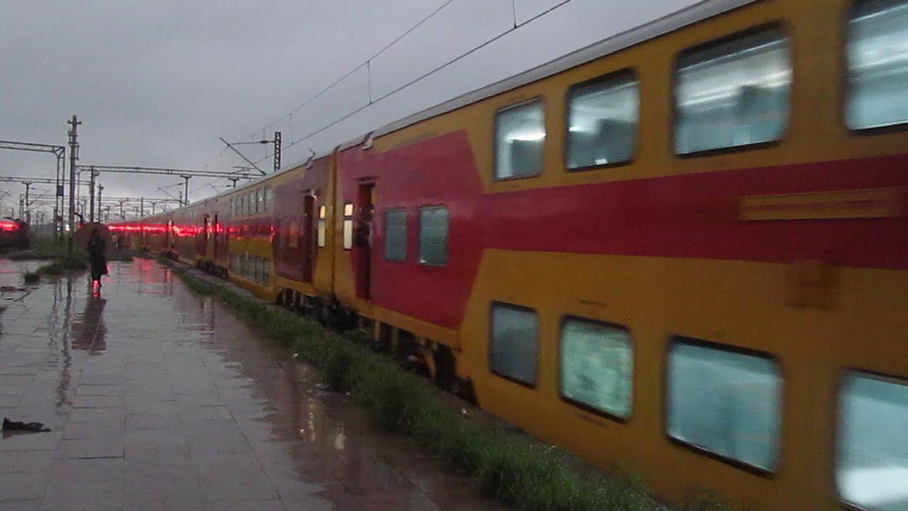 01045 Mumbai LTT - Karmali AC Summer Special Crossing Zarap