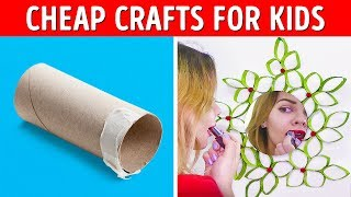 22 COOL CRAFTS FROM TOILET PAPER AND TRASH