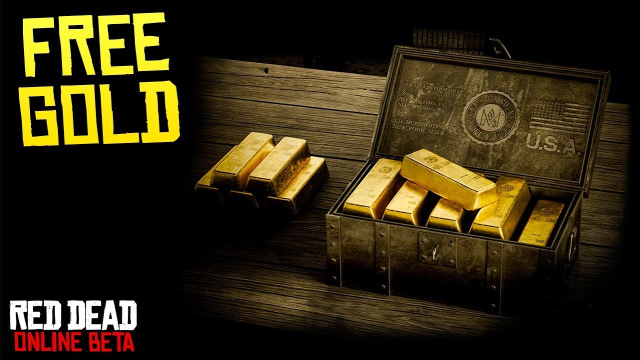 Rockstar Giving MORE FREE GOLD in Red Dead Online + New Updates Coming Early Next Year