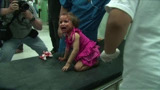 Beit Lahiya hospital flooded with victims after shelling