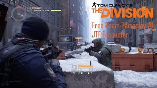 The Division - Free Roam Gameplay #1 JTF Encounter