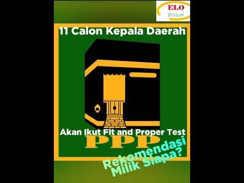 11 Calkada Akan Ikut Fit and Proper Test di DPW PPP Maluku