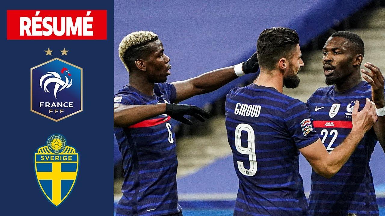 Download France 4-2  Suède, le résumé I FFF 2020