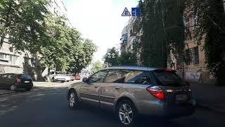 Урок на двух автомобилях. продолжение Подол с параллельной парковкой