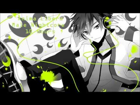 Girl Headset Wallpaper Anima Libera Male Nightcore 1hour Version Youtube