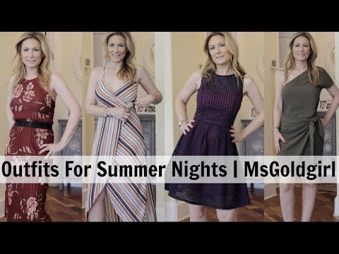Outfits For Summer Occasions  | MsGoldgirl