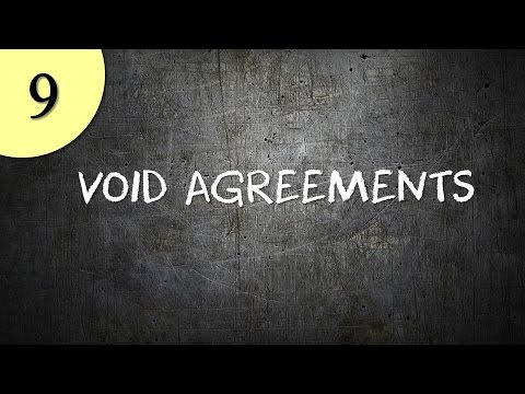 Void Agreements Youtube