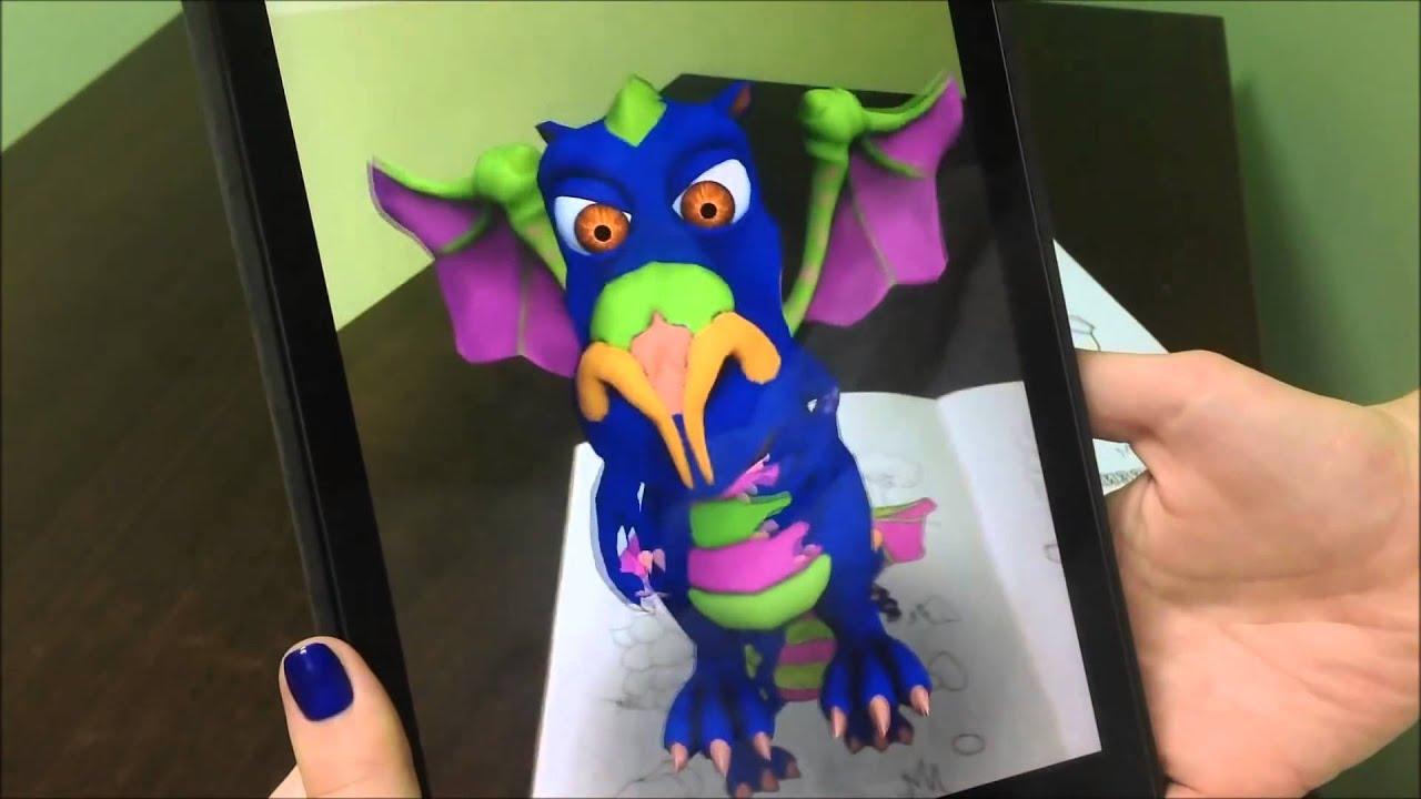 3D Coloring Book Live Heroes From DEVAR Kids