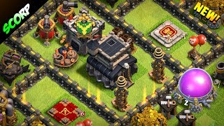 Clash Of Clans - TH9 TROPHY BASE | FARMING BASE | JUNE 2017