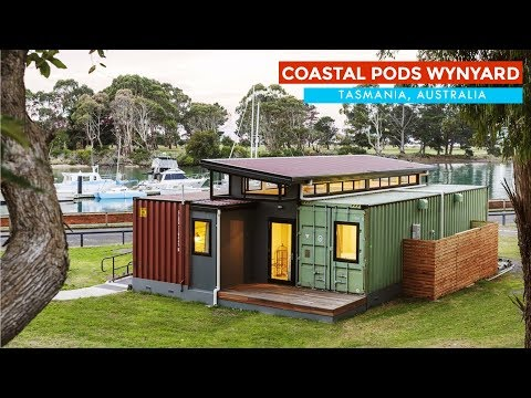 Coastal Pods Wynyard: Luxury Shipping Container Accommodation