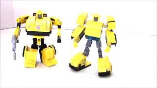 Lego Transformers G1 Bumblebee V3 by BWTMT Brickworks