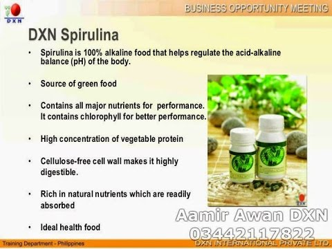 DXN Spirulina Product Training in Pakistan Part-1