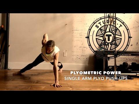 STPro Tech: Rocky Single-Arm Plyometric Push-ups