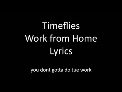 I work lyrics