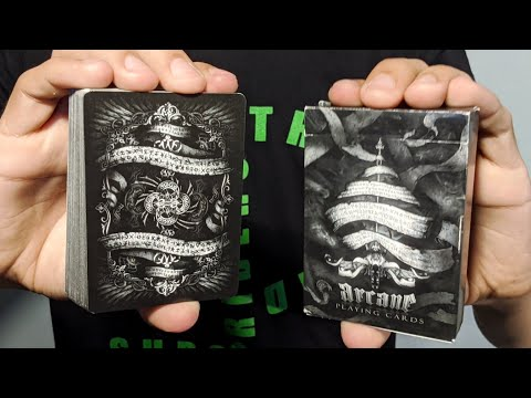Black Arcane Playing Cards Deck Review!