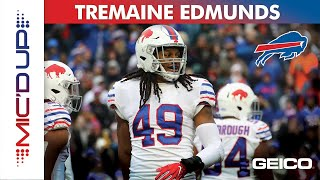 Tremaine Edmunds Mic'd Up presented by GEICO   Buffalo Bills