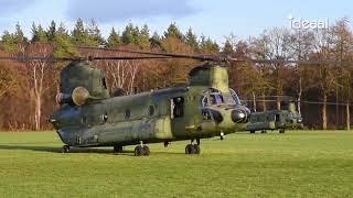 Oefeningen helikopters Koninklijke Luchtmacht