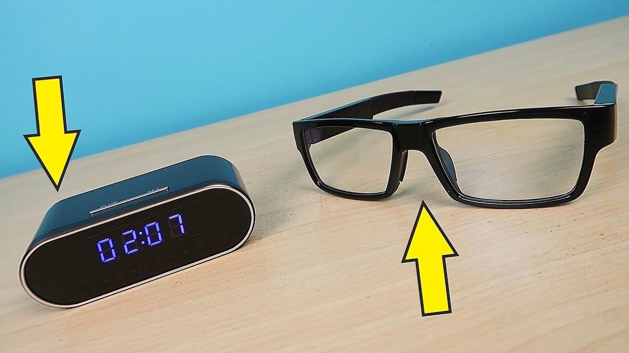 шпионские очки со скрытой камерой
