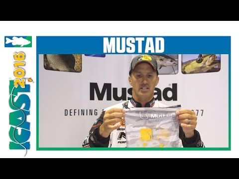 New Mustad Split Ring Pliers & Sun Tube With Edwin Evers   ICAST 2016