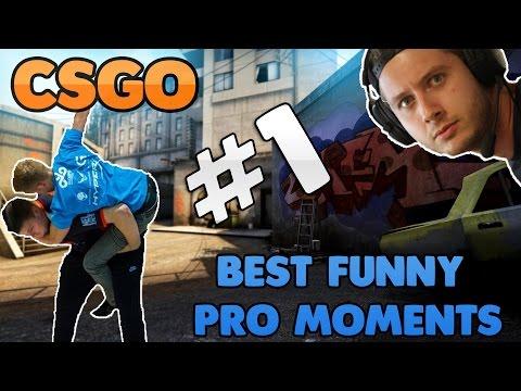 CSGO - Best Funny Pro Moments #1 (2016 - 2017)