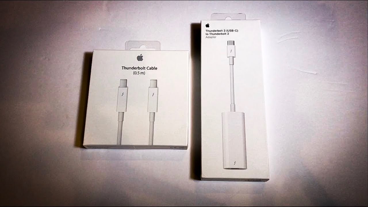 Taking a look at the Apple Thunderbolt 3 (USB-C) to Thunderbolt 2 Adapter