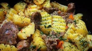 Картофель с мясом в МУЛЬТИВАРКЕ Рецепты для мультиварки Простой рецепт