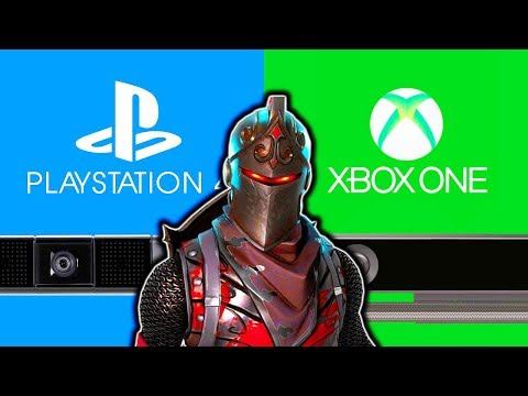 FORTNITE HOW TO PLAY PS4 WITH XBOX ONE! HOW TO CROSS PLATFORM XBOX ONE PS4 FORTNITE OPEN BETA!